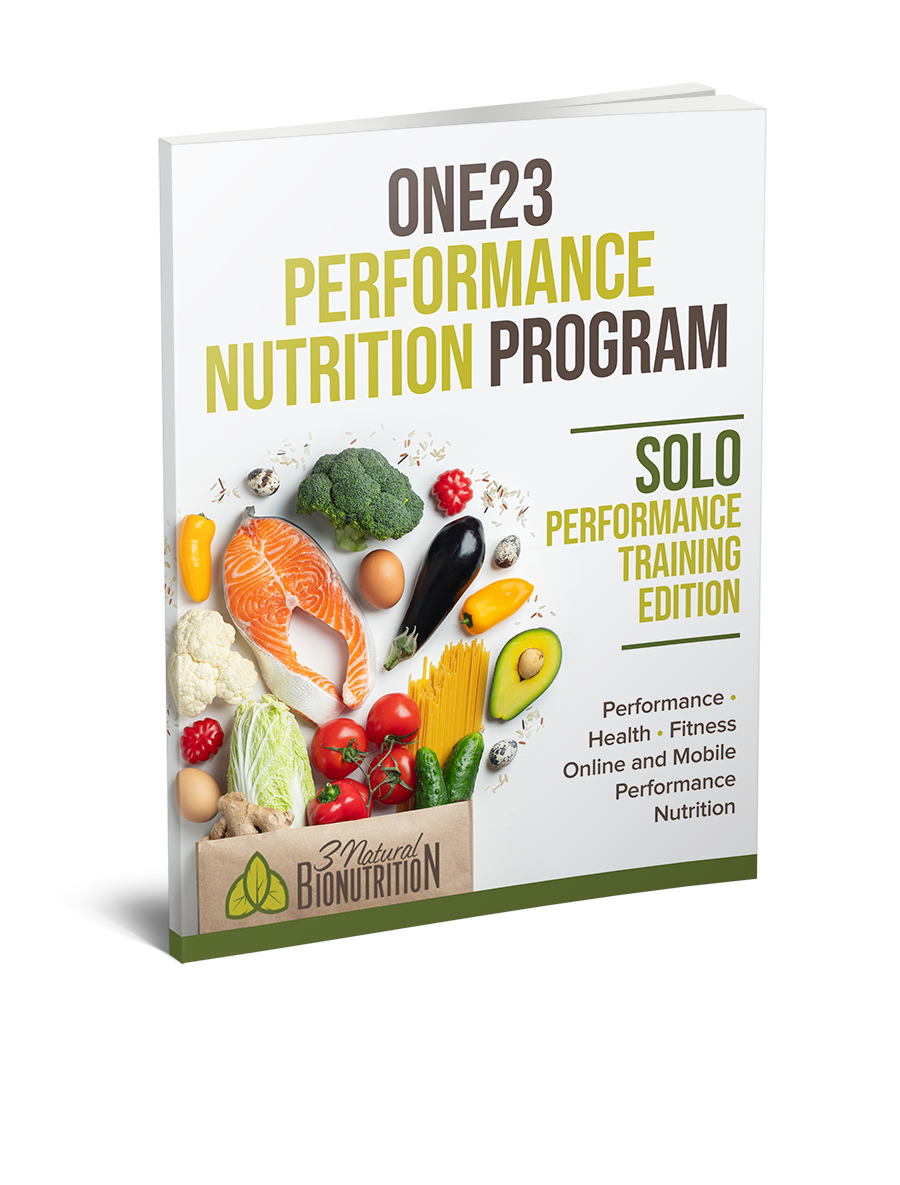 ONE23 PERFORMANCE NUTRITIONE23 PERFORMANCE NUTRITION PROGRAM - Solo Performance Training Program©