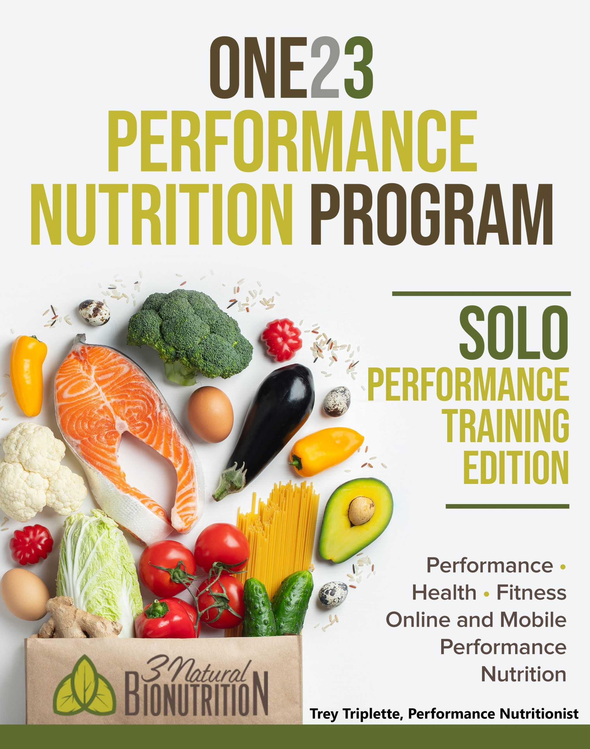 ONE23 PERFORMANCE NUTRITION PROGRAM, Solo Performance Training Program©